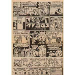 Fabulous Furry Freak Brothers Original Comic Ad 1971: Home