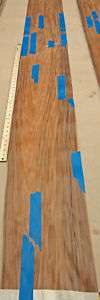 South American Rosewood wood veneer 9 x 101 no back