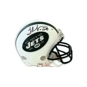 Thomas Jones autographed Football Mini Helmet (New York