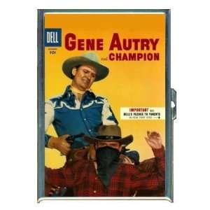 Gene Autry Champion Comic Book ID Holder, Cigarette Case