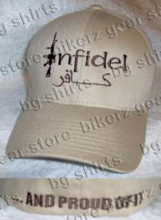 INFIDEL FLEXFIT Spec Ops Navy Seals AMERICAN HAT TAN