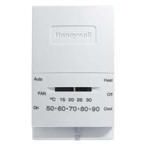 2 each Honeywell Standard Heat/Cool Manual Thermostat
