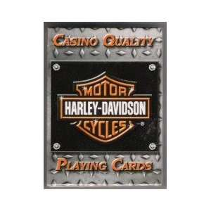 Harley Davidson Casino Quality Playing Cards Sports