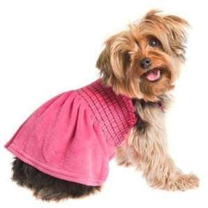 RuffLuv Large Fuchsia Uptown Girl Dog Dress: Pet Supplies