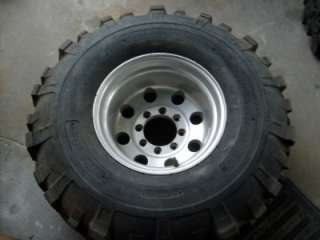 38.5 TSL Super Swamper Mud Tires 8x6.5 Alloy rims 8lug