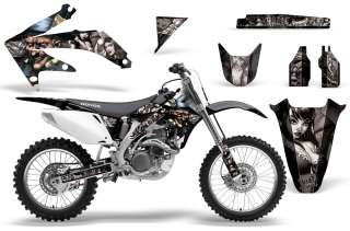 AMR GRAPHICS KIT STICKER HONDA CRF 450R 450 05,06,07,08