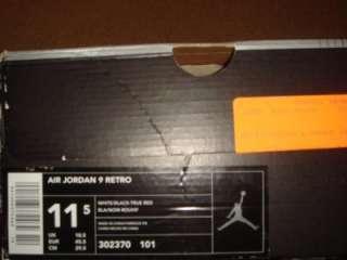 Michael Jordan Nike IX Black White Deadstock 11.5 Jumpman