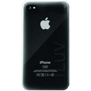 ILUV ICC732CLR IPHONE 4 GLACIER ULTRA THIN CLEAR CASE Electronics