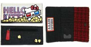 LOUNGEFLY Checkbook HELLO KITTY Wallet POPCORN MOVIE