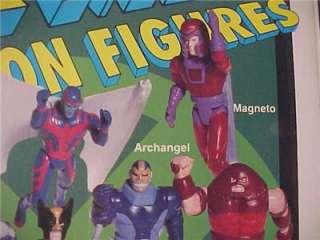 RARE ~MARVEL X MEN TOY ACTION FIGURES AD~ VINTAGE 1991