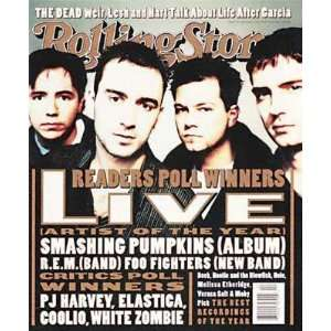 Magazine, Issue 726, January 1996, LIVE Cover Jann S Wenner Books