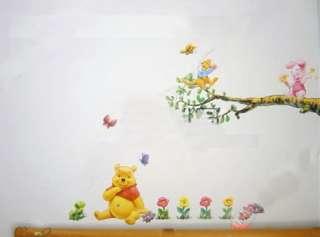 Cute New Disney Winnie Pooh Bear Wall Decal Sticker