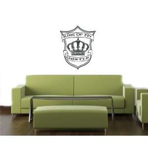 King of My Castle Wall Sticker Decals Art Mural T355