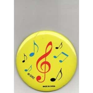 Treble Clef & Notes Pin