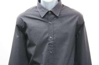 Hugo Boss Long Sleeved Lucas Dress Shirt Deep Purple Print