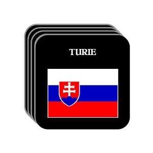 Slovakia   TURIE Set of 4 Mini Mousepad Coasters