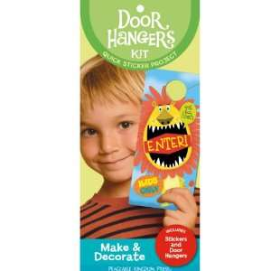 Peaceable Kingdom / Silly Door Hangers Quick Sticker Kit