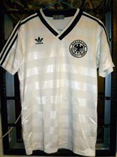 VTG ADIDAS WEST GERMANY EURO 1984 HOME SHIRT JERSEY TRIKOT‏