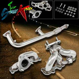 STAINLESS STEEL MANIFOLD HEADER/EXHAUST 95 99 NISSAN MAXIMA 3.0L V6