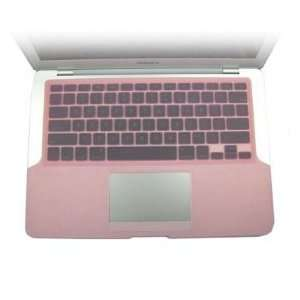 Pink Silicone KeyBoard Cover Skin For New Apple MacBook 13