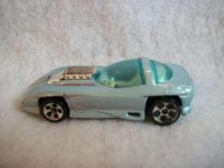 Hot Wheels Silhouette II Light Blue 1993 Malaysia Base