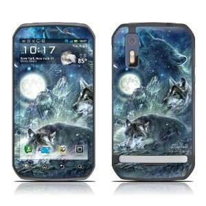 Bark At The Moon Design Decorative Skin Cover Decal Sticker for