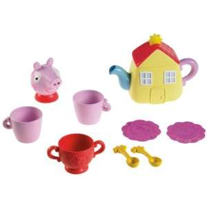 Fisher Price Peppa Pig: Sip and Oink Tea Set: Toys & Games