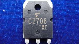 50, NPN Driver Transistor C2706 2SC2706 2706
