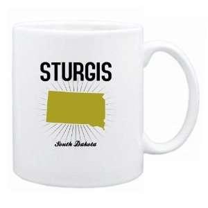 New  Sturgis Usa State   Star Light  South Dakota Mug
