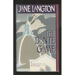 The Dante Game (Homer Kelly Mystery) [Hardcover] Jane Langton Books