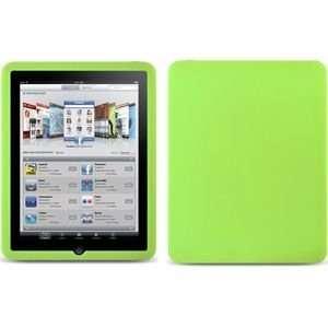 Apple iPad Premium Silicone Soft Gel Skin Case   Lime Green