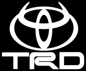 inch TRD TOYOTA HORNS DEVIL SUPRA DECAL/STICKER