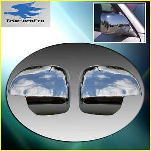 98 06 Chrome Toyota Land Cruiser Mirror Cap Cover 2PCs