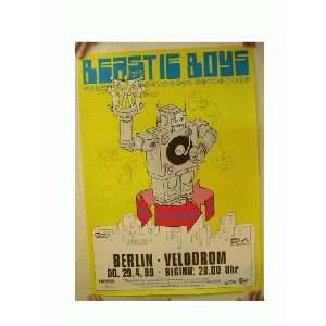The Beastie Boys German Concert Tour Poster