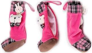 Shoes Soft Plush Doll Pencil Case Bag MakeUp K0028 5