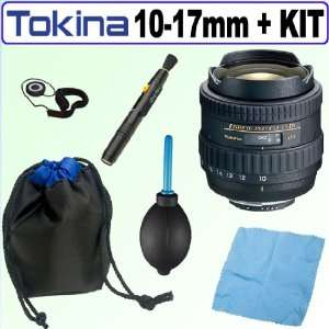 Tokina AF 10 17mm f/3.5 4.5 AT X 107 DX Fish Eye Zoom Lens