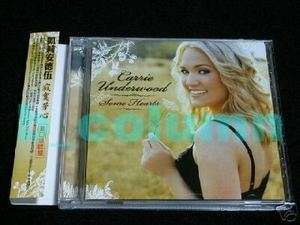 CARRIE UNDERWOOD Some Hearts CD+1 (2006) w/OBI RARE NEW