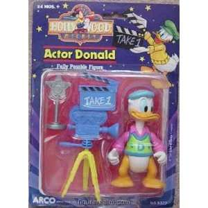 Actor Donald from Disney Hollywood Mickey Action Figure