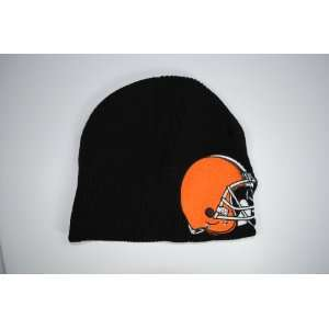 Cleveland Browns Black Big Logo Beanie Cap Winter Hat
