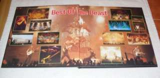 IRON MAIDEN Best Of The Beast 4xVinyl Box Set(Complete)Rare Near Mint
