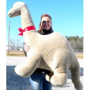 Big Plush Dinosaur Giant Stuffed Brontosaurus Is 4 Feet