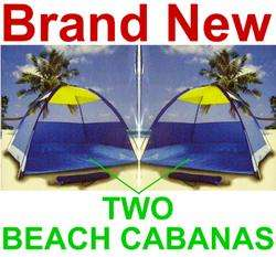 Beach Cabanas,Camping Tent Shelter,Sun Shade,New