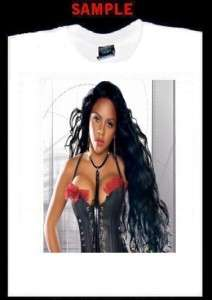 LIL KIM CUSTOM T SHIRT TEE rap hip hop queen bee 253