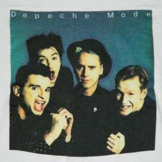 DEPECHE MODE 80S T SHIRT XL TOUR CONCERT ORIGINAL the cure new wavetee