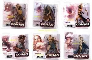 McFarlane Toys Conan Series 1 Action Figure Set