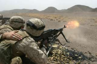 M60 MACHINE GUN PIN THE PIG US MARINES ARMY NAVY AIR FORCE USCG