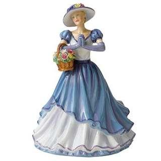 Royal Doulton Pretty Lady Figurine Happy Birthday 2011 Brand New