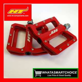RED MN01 Magnesium Mountain & BMX Bicycle Bike Pedals