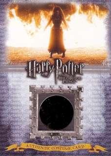 Harry Potter HBP Costume Card C1 Bellatrix #379/390