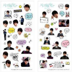 Diary Decoration Sticker Korea Drama Secret Garden